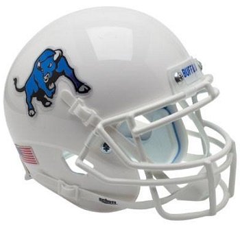 Buffalo Bulls White XP Helmet