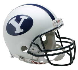 BYU Cougars Authentic Football Helmet