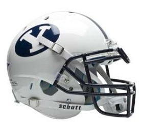 Authentic BYU Cougars White XP Helmet