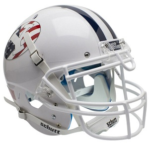 Authentic BYU Cougars Never Forget 9/11 XP Helmet