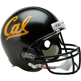 University of California Berkley Golden Bears Full Size Replica Football Helmet by Riddell
