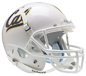 University of California Berkley Golden Bears Full Size Replica Football Helmet by Schutt
