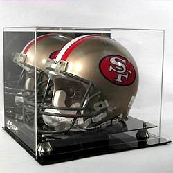 Full-Sized College and NFL Football Helmet Display Cases