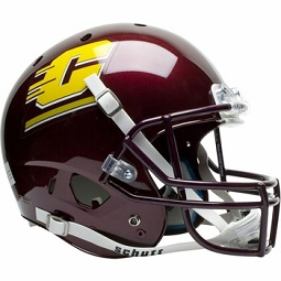 Central Michigan Chippewas XP Football Helmet