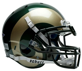 Colorado State Bulldogs Authentic XP Football Helmet by Schutt