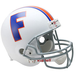 University of Florida Gators Throwback Replica Football Helmet by Riddell