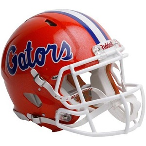 University of Florida Gators Authentic Revolution Speed Football Helmet