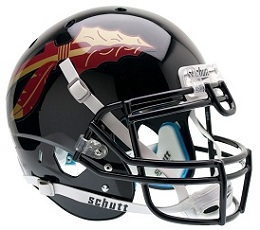 Authentic Florida State Black XP Helmet by Schutt