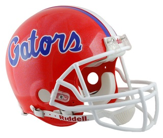 University of Florida Gators Authentic Football Helmet