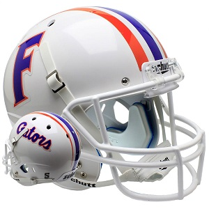 University of Florida Gators White XP Football Helmet