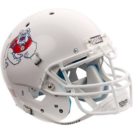 Authentic Fresno State White XP Helmet by Schutt