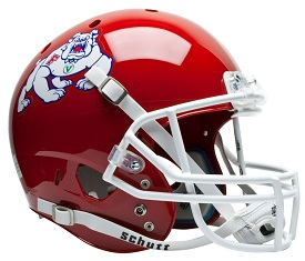 Replica Fresno State XP Helmet by Schutt