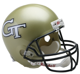 Georgia Tech Replica Football Helmet by Riddell