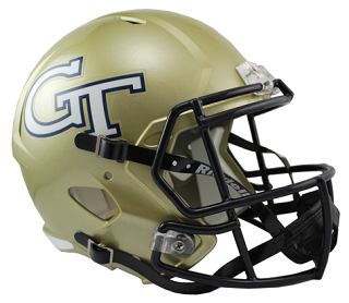 Georgia Tech Yellow Jackets Replica Speed Helmet