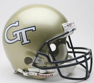 Georgia Tech Authentic Football Helmet by Riddell