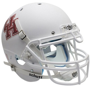 Authentic Houston Cougars White XP Helmet