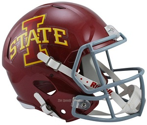 Iowa State Replica Speed Helmet