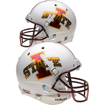 Iowa State Cyclones Chrome Decal XP Helmet