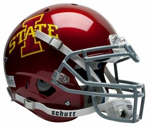 Iowa State Cyclones Authentic XP Football Helmet