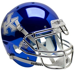 Authentic University of Kentucky Wildcats Chrome Black XP Helmet