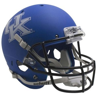 University of Kentucky Wildcats Matte Blue XP Football Helmet