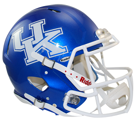 Kentucky Wildcats Authentic Speed Football Helmet