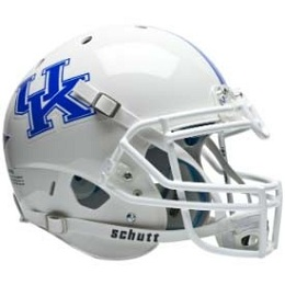University of Kentucky Wildcats White Football Helmet