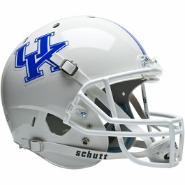 University of Kentucky Wildcats Replica White XP Football Helmet