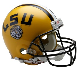 Authentic LSU Football Helmet