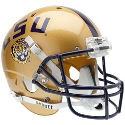Replica LSU Gold XP Helmet by Schutt