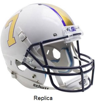 LSU Gridiron Gold Replica XP Helmet
