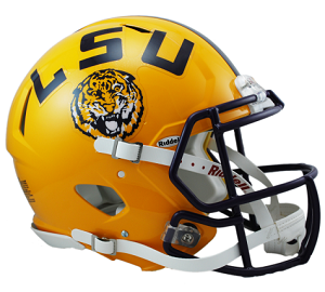 LSU Authentic Revolution Speed Football Helmet