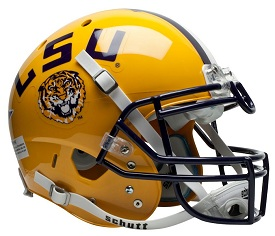 Authentic LSU XP Helmet by Schutt