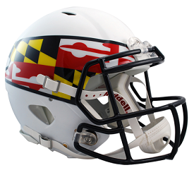 University of Maryland Speed Helmet by Riddell