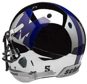University of Memphis Tigers Chrome XP Helmet