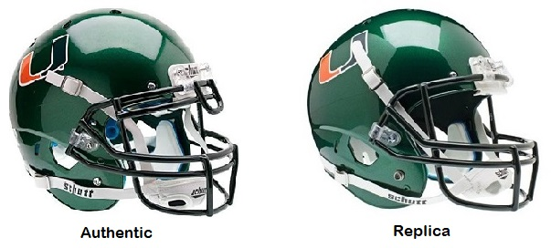 University of Miami Hurricanes Green XP Helmet