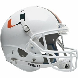 University of Miami Hurricanes Replica XP Helmet