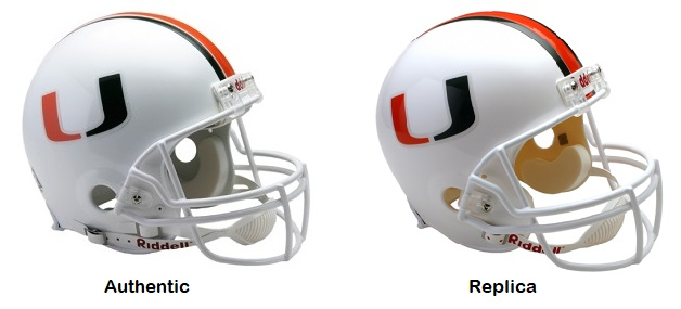 University of Miami Hurricanes VSR4 Helmet