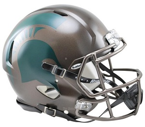 Michigan State Spartans 2015 Bronze Replica Speed Helmet