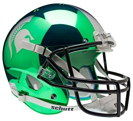 Michigan State Replica Green HydroChrome XP Helmet