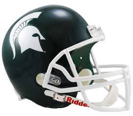 Michigan State Spartans Full Size Replica Football Helmet by Riddell
