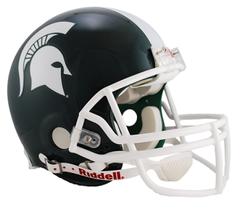 Michigan State Spartans Authentic VSR4 Pro Line Helmet