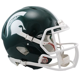 Michigan State Speed Football Helmet by Riddell