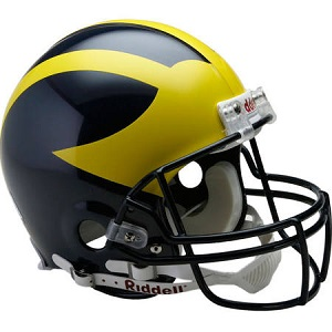 University of Michigan VSR4 Football Helmet by Riddell