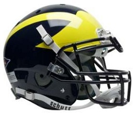 Authentic University of Michigan XP Helmet
