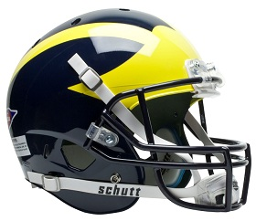 Replica University of Michigan XP Helmet