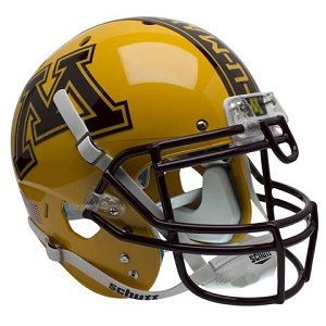 University of Minnesota Alternate Gold XP Helmet