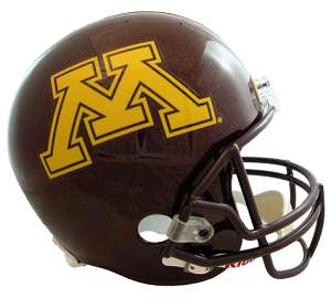 University of Minnesota Replica Football Helmet by Riddell