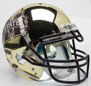 Mississippi State Bulldogs Black XP Football Helmet