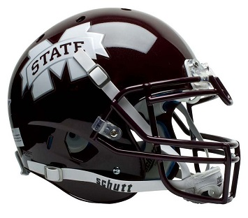 Mississippi State Bulldogs Gloss Finish XP Football Helmet